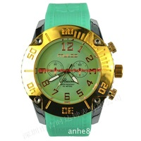 2014 best Christmas gift MULCO WATCH men, women, the most fashionable watches free shipping, big brands big dial 10color