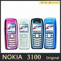 Free shipping Nokia 3100 Original Unlocked Mobile Phone GSM Support Russian Hebrew Polish Refurbished
