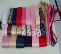 30  yards free shipping Grosgrain Wedding Decoration Ribbon,DIY Bows Ribbon Sets Hot Sale Wholesale