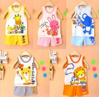 2014 new baby & kids clothing set girls boys t shirt + pants undershirt Shorts, kids pajama set, Children t shirts
