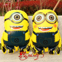 New Arrival! DESPICABLE ME 2 MINIONS balloon Free Shipping Wholesale Various Aluminum Foil cartoon balloons , Baby's Toy & Gift.