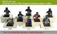 Super hero 8 PCS/lot of batman children's educational toys DIY for the children's Education & learning,No original box