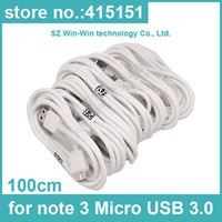 5000PCS 1M Micro USB Data Cable sync charger for Samsung Galaxy Note 3 III N9000