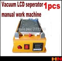 1pcs Manual Vacuum LCD Screen Glass Separator Machine LCD Seperate Repair Machine For iPhone Samsung HTC Repairing 110V~260V