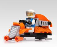 42pcs Space Cruise Car Building Block Brick Toy 1 minifigure figure set[QPL1156]