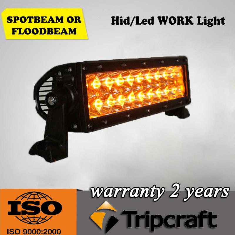 High power yellow amber 36W AMBER LED LIGHT BAR warning lamp,emergency 3060lm car