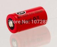Free shipping 10pcs/lot AW IMR 18350 700mah battery for e-cig