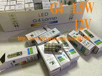 G4 LED, 24pcs led, 105lm  12V, AC/DC, DHL freeshipping.