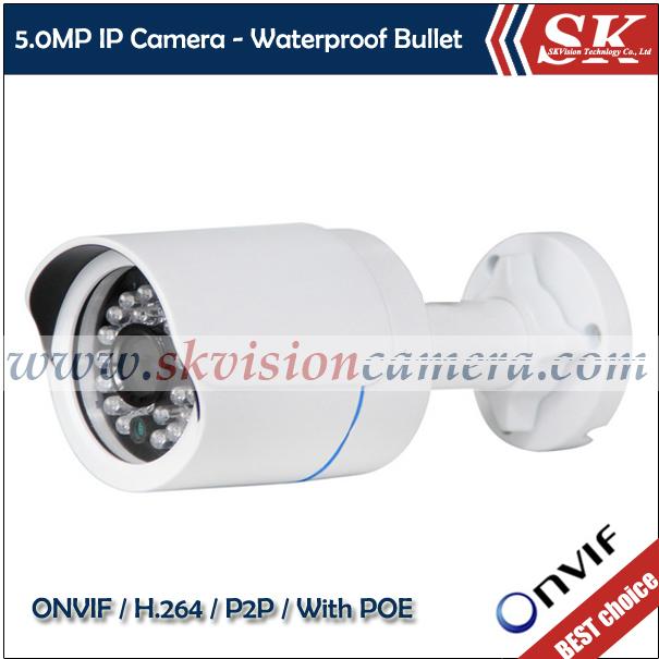 IPC-114BDP-POE IP66 Waterproof ONVIF H.264 Mini Outdoor 5MP IP Network Camera