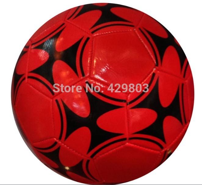 free shipping&wholesale PVC Soccer Balls Size 5,2014 Machine Sewing promotion soccer ball,machine sewing football(China (Mainland))