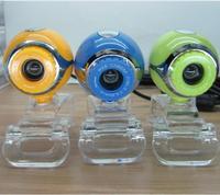 5 x 8.0 Megapixels USB 2.0 Clip-on PC Camera Webcam Free Shipping