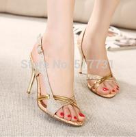 Super nice ! 2014 summer new women high-heeled sandals / princess sandals with thin heels