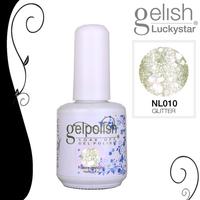 15ml/0.5oz  Shellac  Soak-off UV Led Gel Polish Nail Art for UV or Led Lamp Glitter SILVER SAND