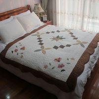 Free shipping wholesale Lovely plush patchwork quilting door mat tatami pad carpet mats