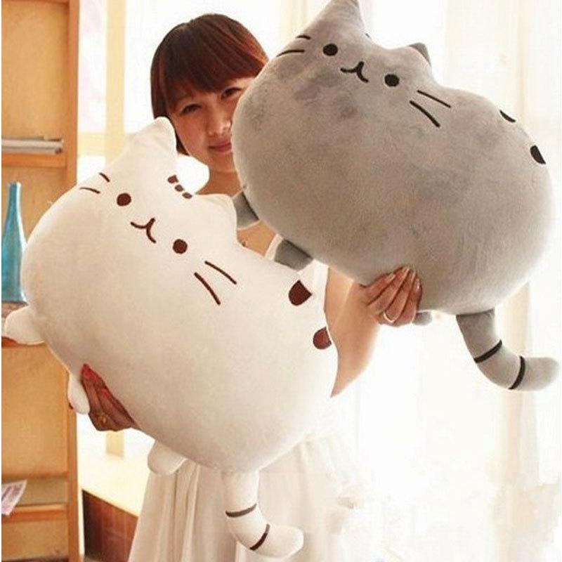 Игрушки кошка подушка