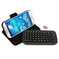 Wireless Bluetooth Keyboard Leather Stand Case Cover For Samsung Galaxy S4 i9500