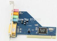 2pcs/lot New PCI Sound Cards&Mini CD Driver CMI8738/PCI-SX for Windows98/ME/2000/XP/Vista F0177