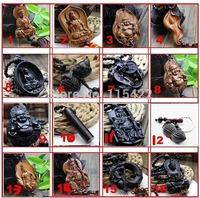 wholesale 10pcs/lot Chinese handicraft decoration buddha wood indian sandalwood carving free shipping