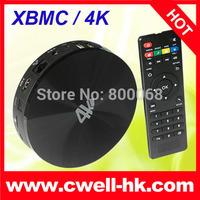 S82 TV Box 4K XBMC Amlogic S802 Quad Core Android 4.4 KitKat 2GB RAM 8GB ROM Bluetooth Remote Control RJ45 OTG