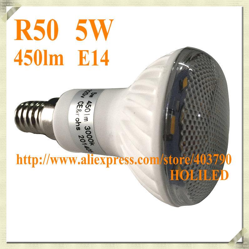 5W Ceramic R50 LED Bulb(450lm)(China (Mainland))