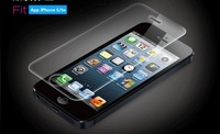 0.33mm Tempered Glass Screen Protector For: iPhone5/5s/5c Free shipping