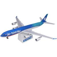 Air Tahiti Nui aircraft Airbus A340-300 3D paper model DIY