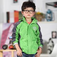 2014 spring new boys outdoor jacket coat jacket mixed colors C0011