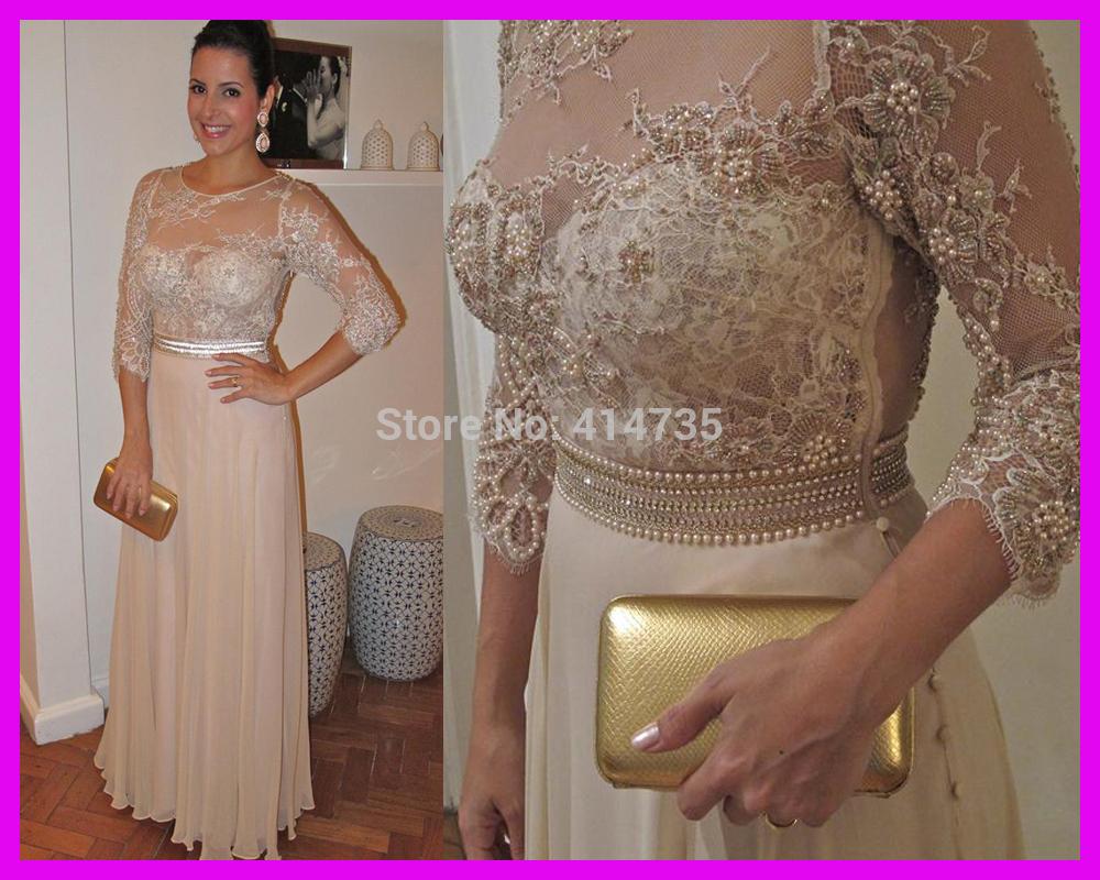 Платье для матери невесты 2014 Fashion Evening Prom Dress  25