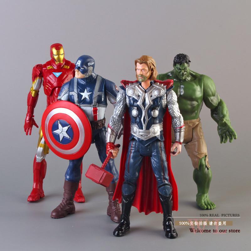 Мстители-Капитан Америка Тор Халк железа человек