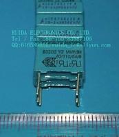 EPCOS Capacitors B32021A3222M 0.0022UF 300V 10MM 1000PCS/carton