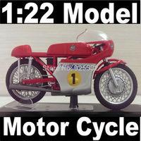 Motor Cycle model motorcycle MV AGUSTA World Champion 1967 (rider G.Agostini) NEW 1:22 Diecast Model In Box Bike Free Shipping