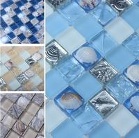 Special Shell  Glass  Mosaic Tiles, kitchen backsplash, bathroom, living room wall tiles