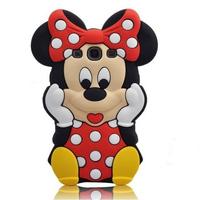 3D Winnie Bear Mickey Minnie Mouse Donald Duck Squirrel Animal Cartoon Case For Samsung Galaxy S3 I9300