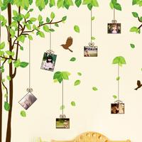 Big sticker Size 300*180cm DIY Life photos stickers tree Photo Wall stickers