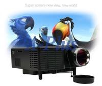New Black US Plug 320 X 240 Portable Mini Multimedia LED Digital Projector Displayer VGA/AV/USB/SD input 12750