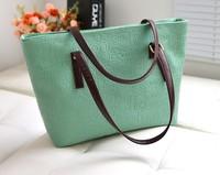 wholesale 2014 Hot selling Women handbag women shoulder handbags Free shipping women leather handbags