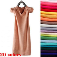 2014 spring autumn winter 20 color new loose style casual knitted sweater women O-neck long-sleeve pullovers free size