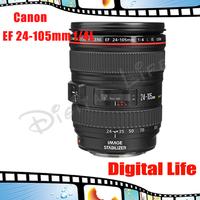 Canon EF 24-105mm f/4 L IS USM Lens For Canon 6D 5D  SL1 T5i T5 T4i T3i T3 60D 70D T2i T1i Xsi XS DSLR Cameras