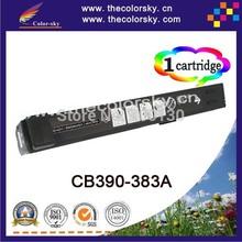 (CS-H390-383) Color laser toner cartridge ceramic toner for hp cb 390a 381a cm 6030 6030f 6040 6040f mfp (19.5k/21k pages)