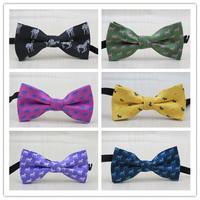 (1 pcs/lot) children bowtie /Many animals pattern design/Han edition Fashion Tide treasure small boy bow ties,free shipping