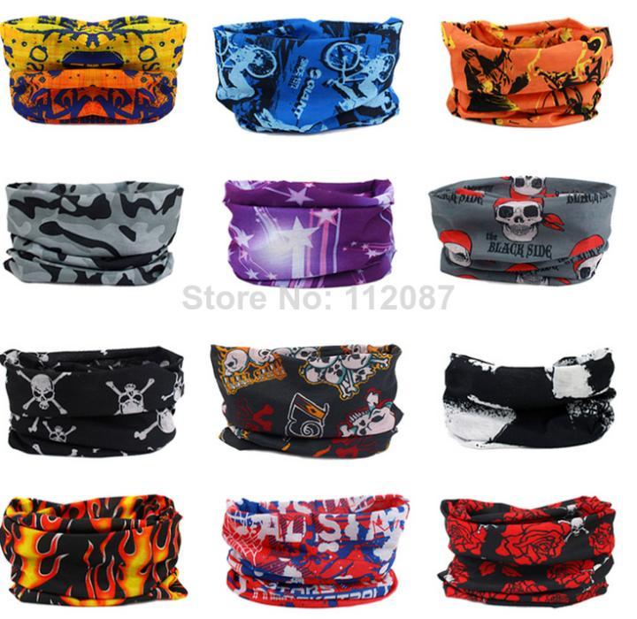 Free Shipping 2014 Multi Use Scarf Snood Neck Head Wear Bandanas Tube Mask Snood Cap Warmer TJS3001(China (Mainland))