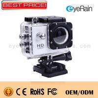 Wholesale Action Camera Diving 30Meter Waterproof Sport Camera 1080P Mini Camcorders Full HD SJ4000 Helmet Camera DV Gopro.SP22