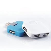 Free Shipping Portable Square Candy USB Hub High Speed Computer USB Hub Extension HNKYGH-383