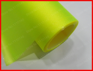 Fluorescent Yellow 30cm x 2m Flash Point HeadLight Taillight Tint Vinyl Film,Fog Light Tint Vinyl Film -12 color Free Shipping(China (Mainland))