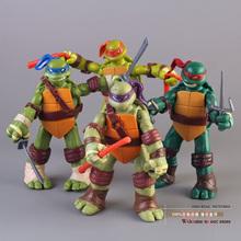 TMNT Teenage Mutant Ninja Turtles PVC Action Figure Collection Model Toys Classic Toys Christmas Gift 4pcs/set MVFG155(China (Mainland))