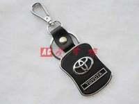 Free shipping 4 s store custom gift * Toyota camry car key * creative leather logo key chain Christmas