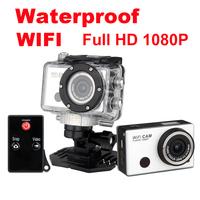 WIFI Extreme Sport Mini WIFI Action Camera Diving 30 Meters Waterproof HD 1080P Waterproof DVR Camera camcorder car camera gopro