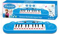 1405c 38511340856 Frozen ice Romance cartoon child organ keyboard with music 8 demo songs