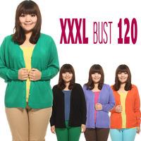 New 2014 Cardigan Hot Sale Women Cardigan Plus Size XXL XXXL Bust 120 Women Sweater Cardiga Many Colors