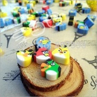 NEW Bird Eraser/ Novelty eraser / Rubber Eraser/ Cartoon Gifts Wholesale Children Student School Supplies Random Color